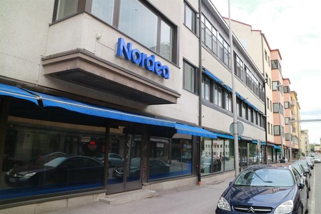 Nordeas banktjänster fungerar inte på söndagen.