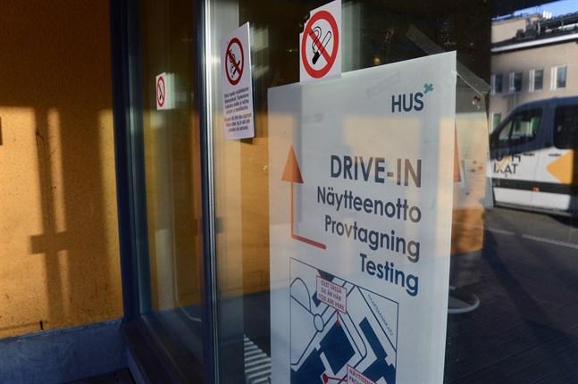 Finlands testkapacitet uppgår till 13000 coronatest per dag.