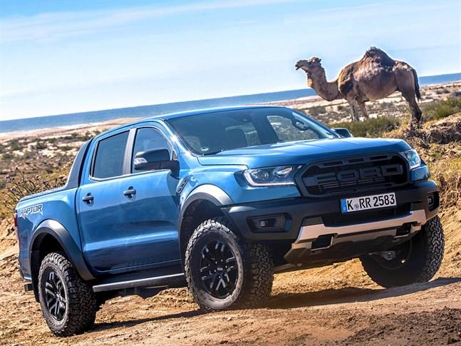 Ford Ranger är Europas mest sålda pickup.