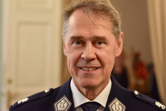 Seppo Kolehmainen har en över 30-årig poliskarriär bakom sig. Arkivbild.