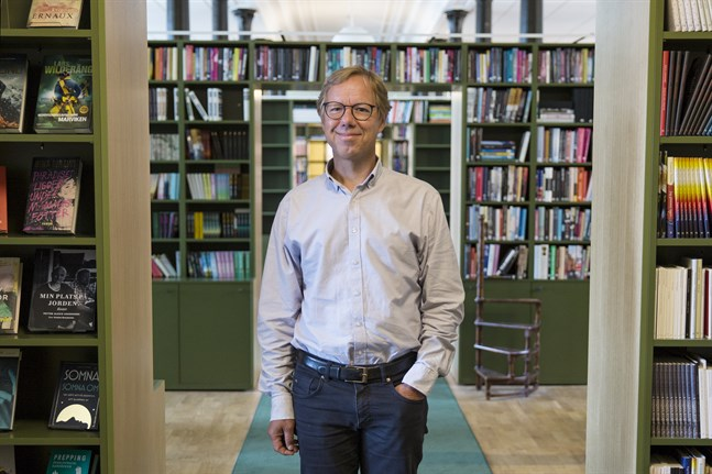Den 1 april i år tog språkvetaren Patrik Hadenius över titeln som förlagschef för Norstedts.