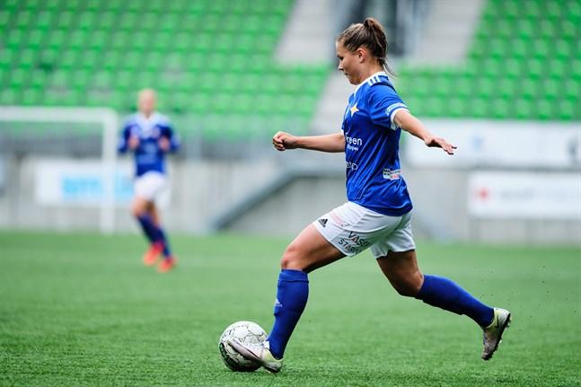 Fanny Forss gjorde sitt åttonde mål för säsongen när Vasa IFK gästade PKKU.