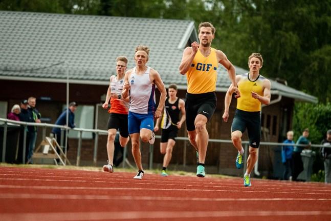 Filiph Johansson, GIF, var överlägsen på 400 meter i fredags.