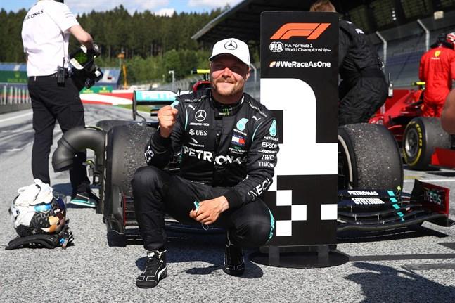 Valtteri Bottas höll huvudet kallt trots problem med växellådan.
