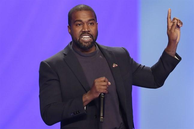 Kanye West tar sikte på Vita huset. Arkivbild.