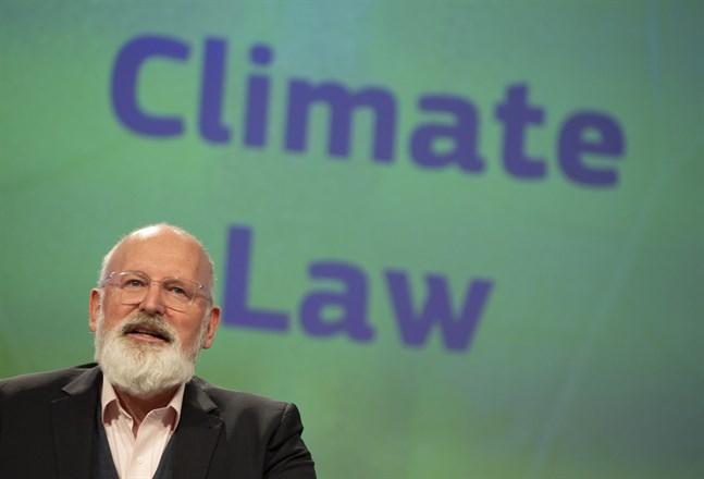 EU:s klimatgeneral Frans Timmermans ska presentera kommissionens nya energiplaner under onsdagen. Arkivfoto.