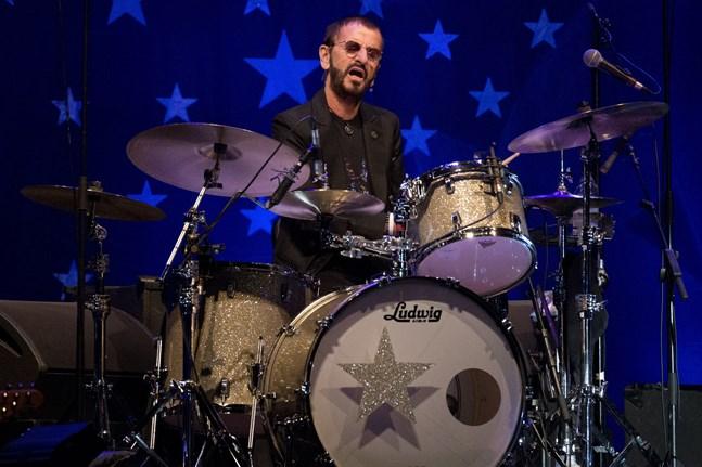 Ringo Starr har fyllt 80 år. Arkivbild.