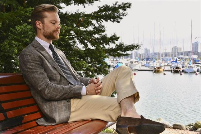 –Klassiskt herrmode handlar mindre om mode och mera om stil och tidlöshet, säger herrmodesentusiasten Johan Wikström.