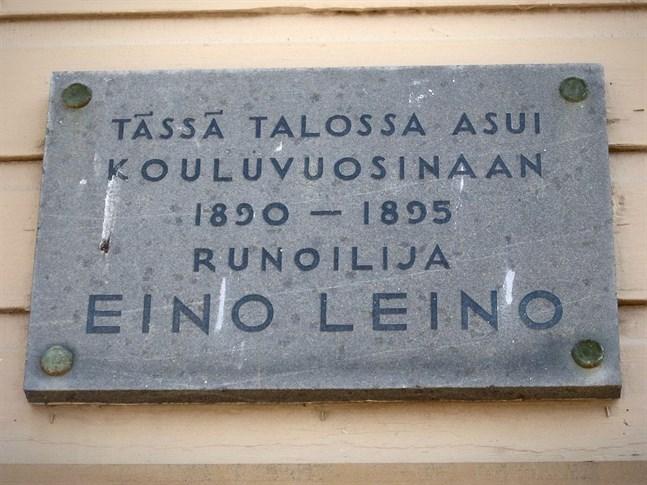 Eino Leino är en av Finlands kändaste poeter.