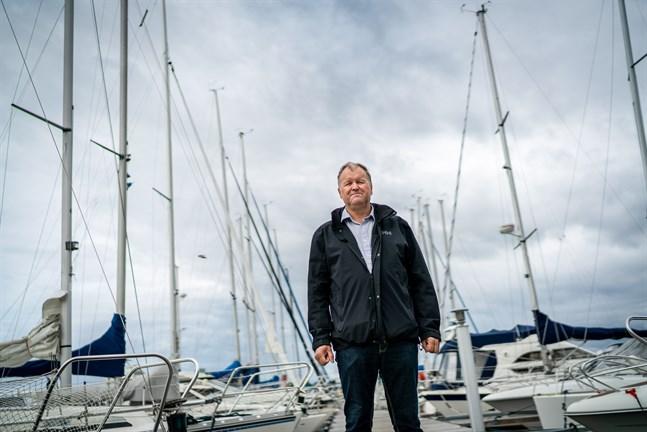 Enligt Lars-Erik Nyman har intresset för segling ökat under de senaste åren.