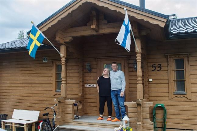 Det var en självklarhet att sitta i karantän för familjen Finell från Stockholm.