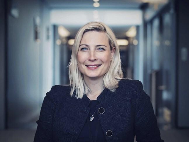Sannfinlädarnas Europaparlamentariker Laura Huhtasaari.