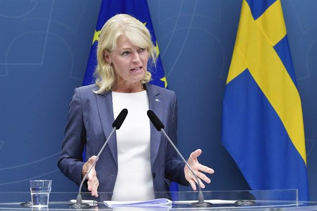 Sveriges Nordenminister Anna Hallberg (S) är orolig över de försämrade nordiska relationerna. Arkivbild.