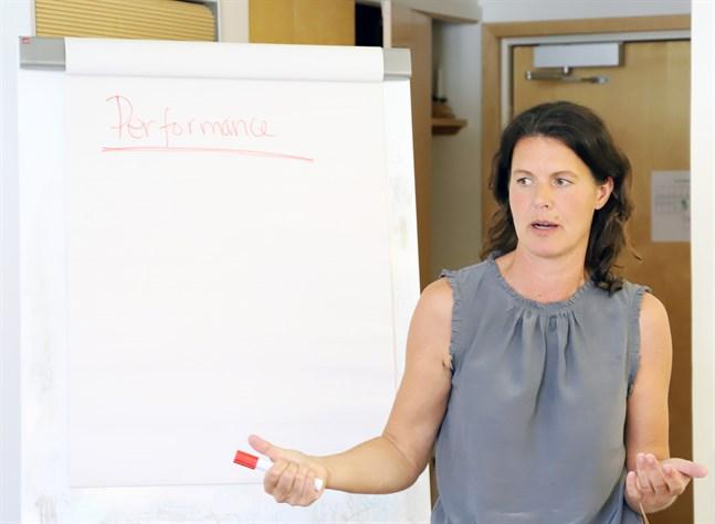 Mentaltränaren Jeanette Szymanski talar om processmål. Vad ska man göra för att lyckas uppnå målet under en tävling?