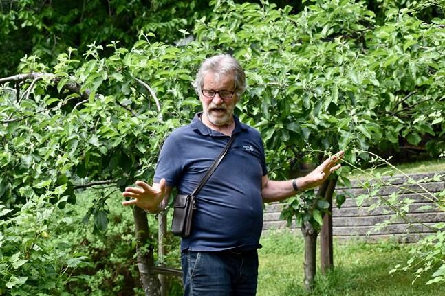 Aarno Kasvi var överträdgårdsmästare vid Åbo universitets botaniska trädgård i Runsala från slutet av 1983 till sin pensionering 2009. Samma år som Kasvi gick i pension utnämnde republikens president Tarja Halonen honom till trädgårdsråd.