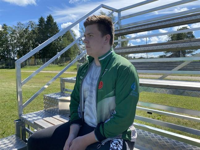 Linus Nurminen blickar framåt i karriären och drömmer om större tävlingar i framtiden.