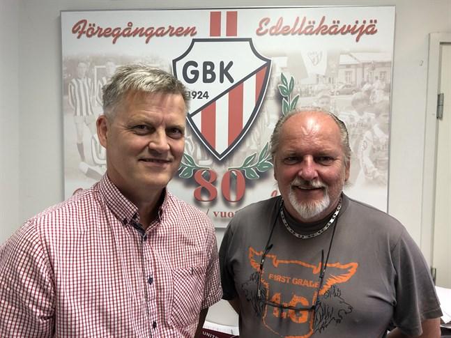Robert Åström och Stefan Thylin ser fram emot turneringen sommaren 2021.