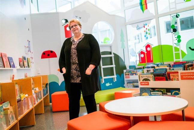 Solveig Hortans är ny bibliotekschef i Pedersöre kommun.