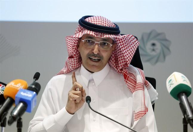 Den saudiska finansministern Mohammed al-Jadaan är en av huvudarrangörerna bakom det virtuella G20-mötet. Arkivbild.