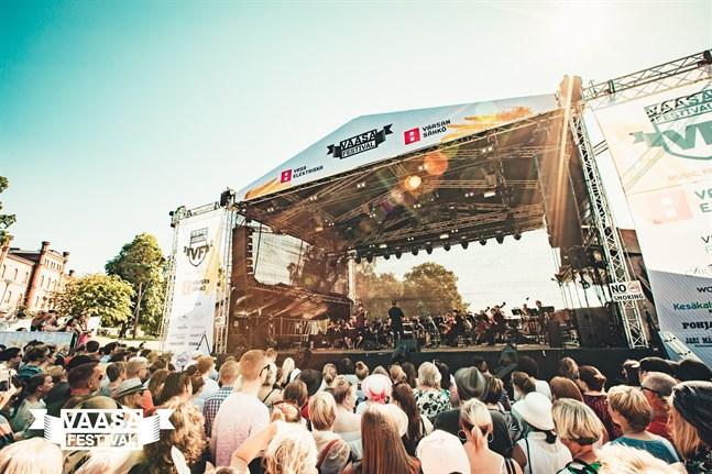 Vasa festival ordnas andre helgen i augusti. Genom att delta i vår tävling kan du vinna biljetter.