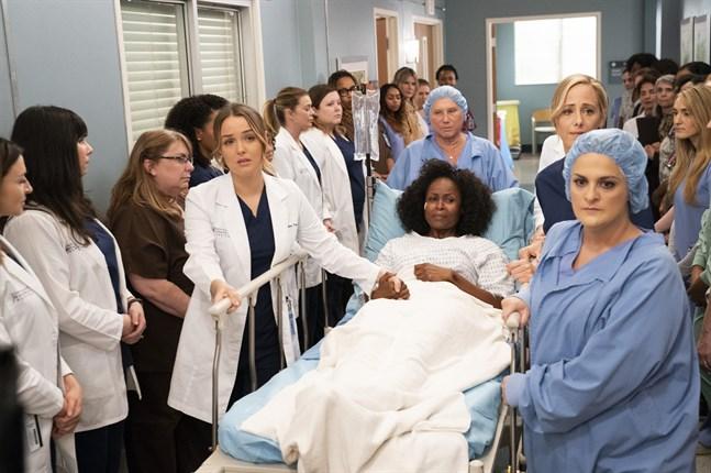 """Coronaviruset tar sig in i den sjuttonde säsongen av långköraren """"Grey's anatomy"""". Arkivbild."""