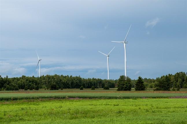 Vindparkerna i Ribäcken och Långmossen blev klara i somras. I Ribäcken står fem kraftverk och i Långmossa sju.