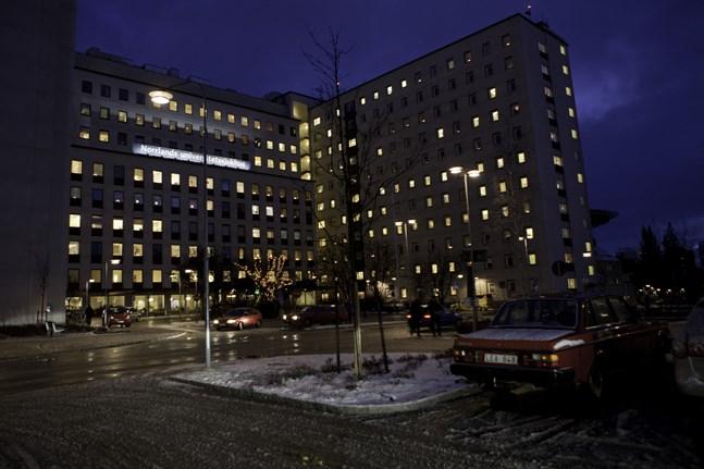 Norrlands universitetssjukhus i Umeå. Arkivbild.