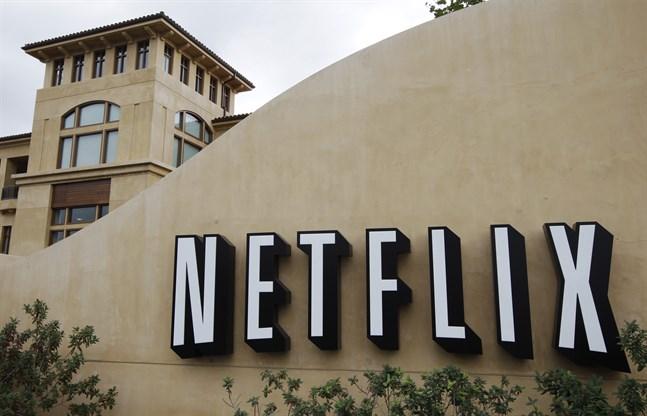 Netflix huvudkontor i Los Gatos i Kalifornien. Arkivbild.