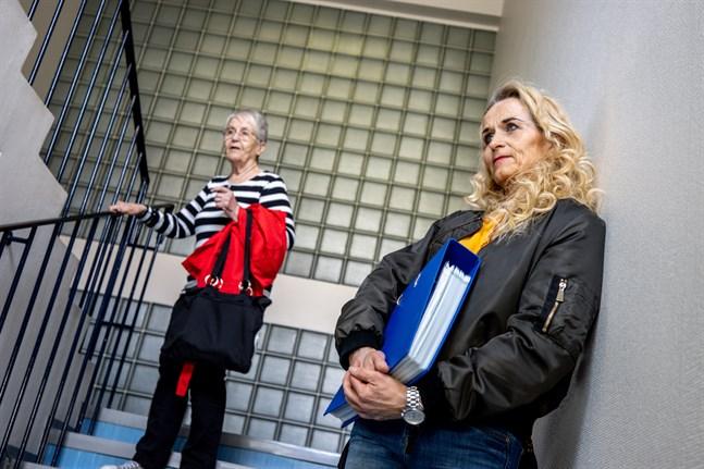 Brita Granfors arbetade på Roparnäs sjukhus ända till sin pension. I dag arbetar hennes dotter Agneta Honkala på sjukhuset, men även andra i släkten har gjort karriär där.