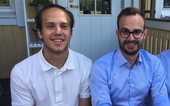 Filip och Joakim Kronqvist från Nykarleby har lanserat en app för stalluthyrning.