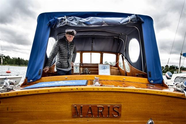 – Jag ska aldrig mer ha en träbåt, tänkte Stefan Maris för bara några år sedan. Nu har hans båt blivit utsedd till den vackraste i Österbotten.
