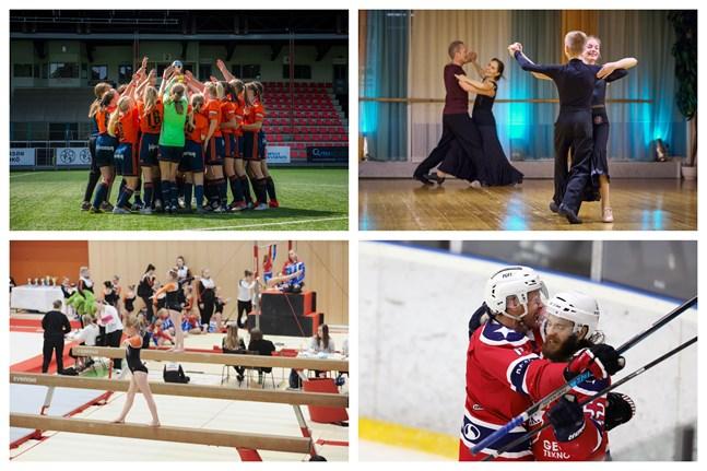 Wasa Fotbollsakademi, Danssportföreningen Rolling, Vasa Redskapsfantaster och Team IFK Lepplax hör till de idrottsföreningar som får coronastöd.