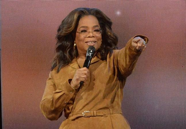 """Oprah Winfrey ledde mellan 1986 och 2011 den enormt populära """"The Oprah Winfrey show"""". Arkivbild."""