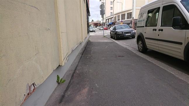 Styrmansgatan i Jakobstad.