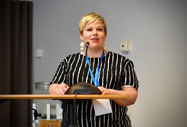 Annika Saarikko. Arkivbild.