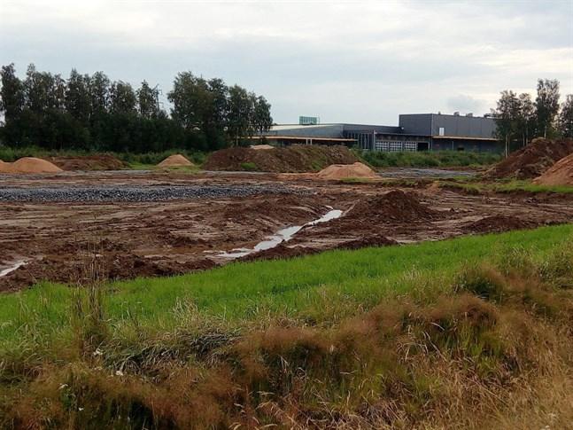 Våtmarksområdet ska vara klart i oktober.