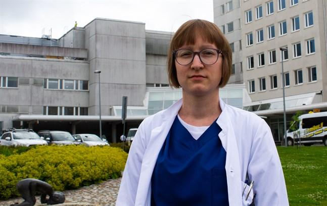 Silvia Grönroos-Pada, infektionsläkare.