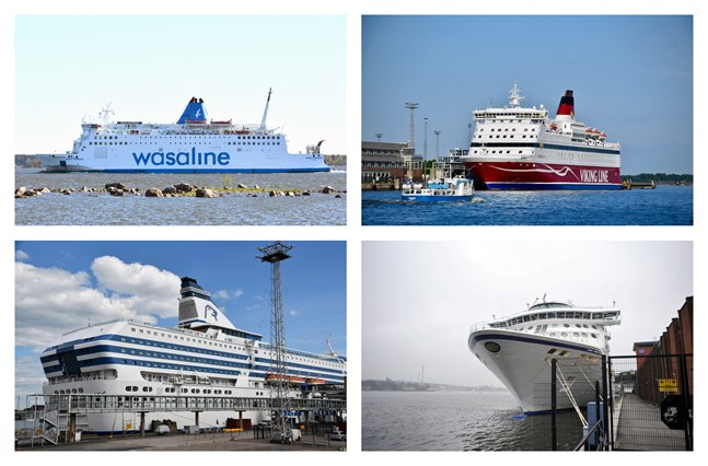 Rederierna redovisar miljonförluster i sommar på grund av coronakrisen, trots att passagerartrafiken återupptogs i juni.