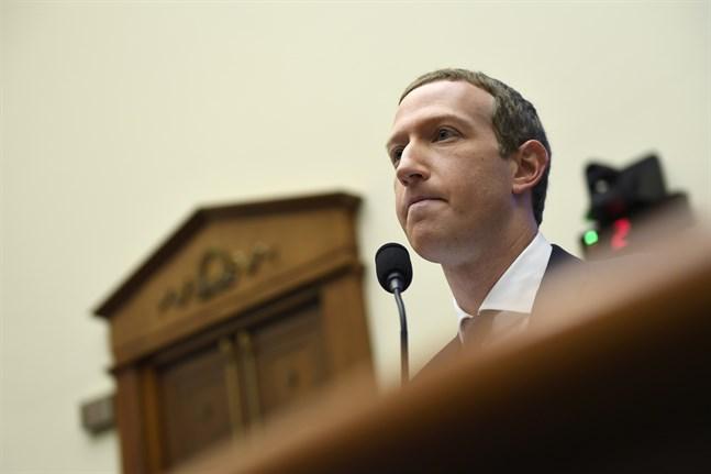 Facebooks vd Mark Zuckerberg ska återigen frågas ut av kongressen i USA. Arkivbild.