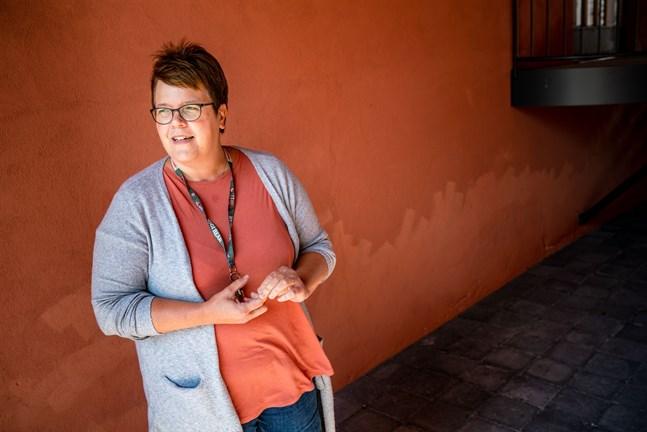 Monica Hällund-Myntti, socialterapeut på Beroendevårdskliniken, vill gärna se att man skulle utnyttja den missbrukarvård som redan finns och bygga vidare på den.