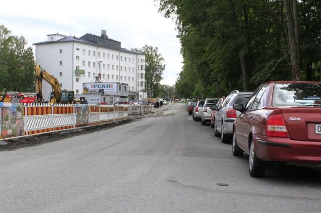 En del av Långviksgatan stängs i början av augusti.