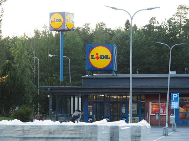 Lidl i Jakobstad.