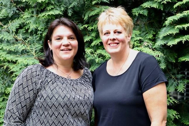 Malaxborna Minna Hautala och Annette Kanerva startar en restaurang tillsammans. Båda har lång erfarenhet av branschen.