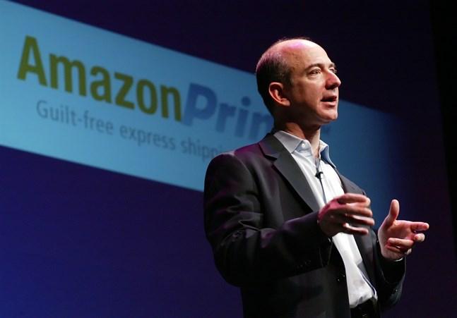 Amazons grundare och vd, Jeff Bezos. Arkivbild.