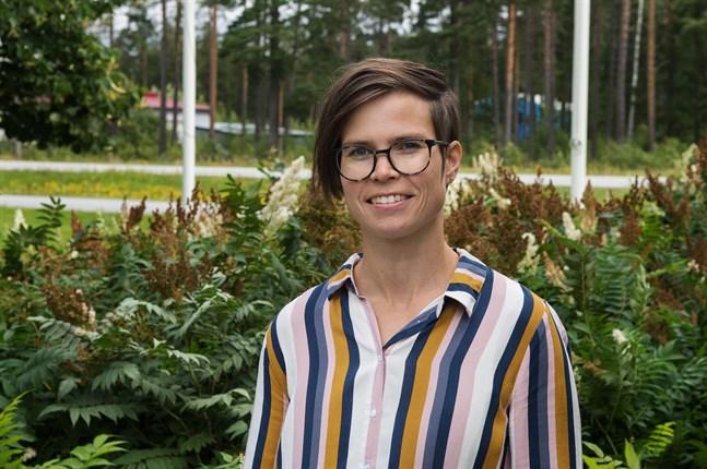 Välfärdschef Caroline Smedberg har trivts på jobbet från första stund. Det känns meningsfullt och som jag har mycket att bidra med, säger hon.