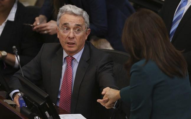 Álvaro Uribe. Arkivbild.