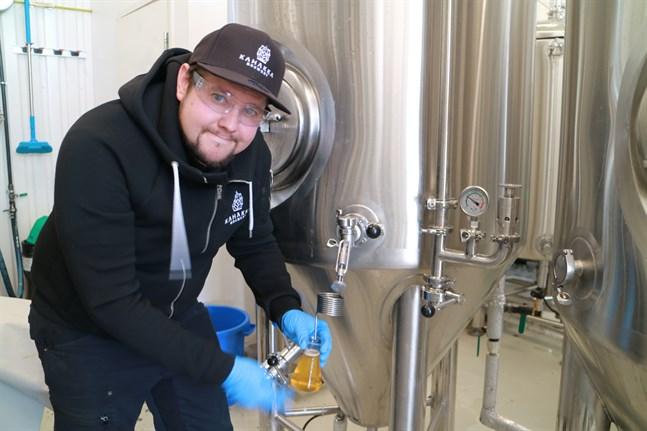 Nicke Kavilo vill att Kahakka ska vara nejdens egna bryggeri.