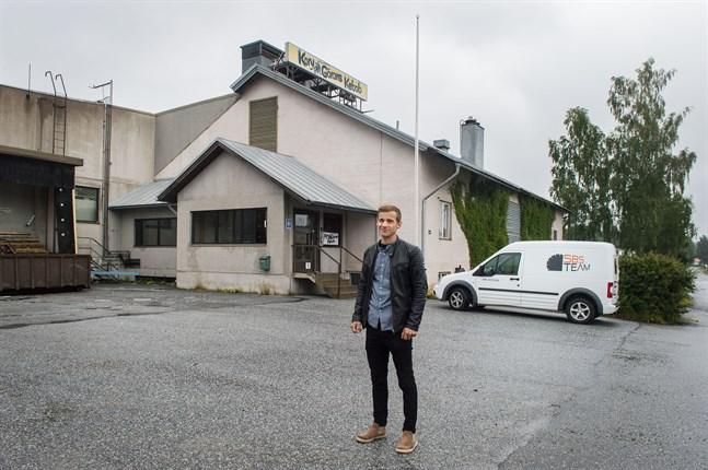 SBS Team, med vd Robin Granlund i spetsen, ska göra Korv-Görans gamla fabrik till en fungerande företagslokal. Tanken är att den äldsta delen ska rivas och i stället ge plats för en glasvägg.