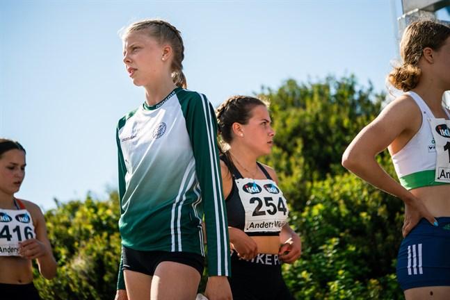 Drotts Fanny Östman sprang personligt på 100 meter i FM.