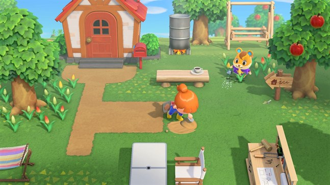 Nintendo Switch-spelet Animal crossing new horizon har sålt i 22 miljoner exemplar sedan det släpptes i slutet av mars. Pressbild.
